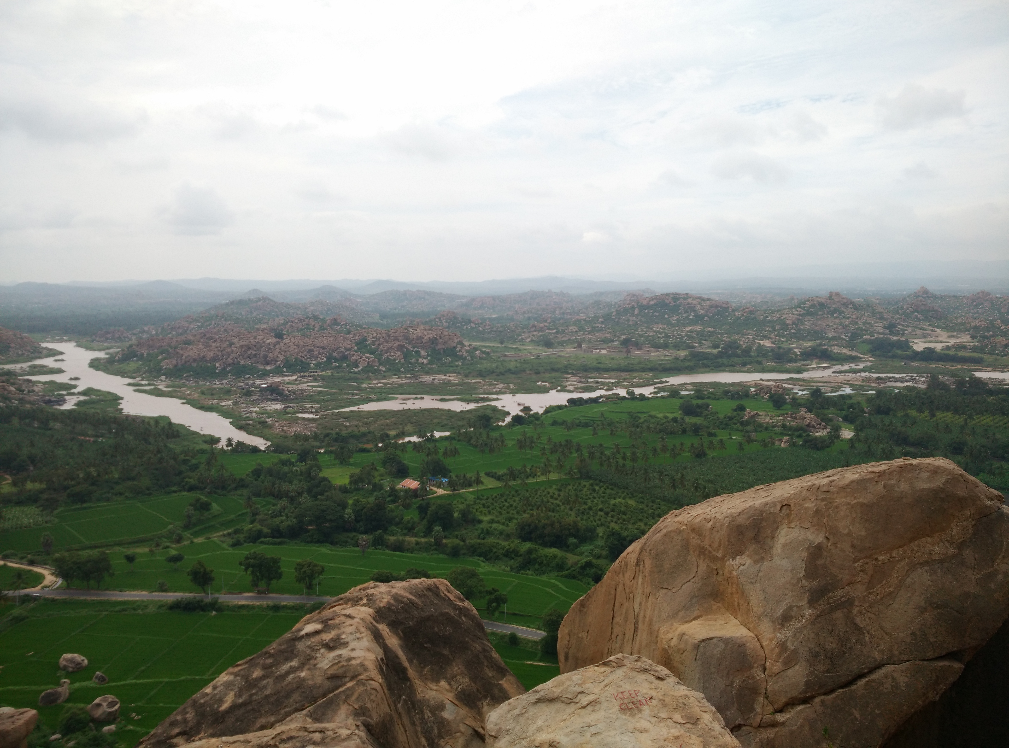 Anegundi.. The twin city of Hampi