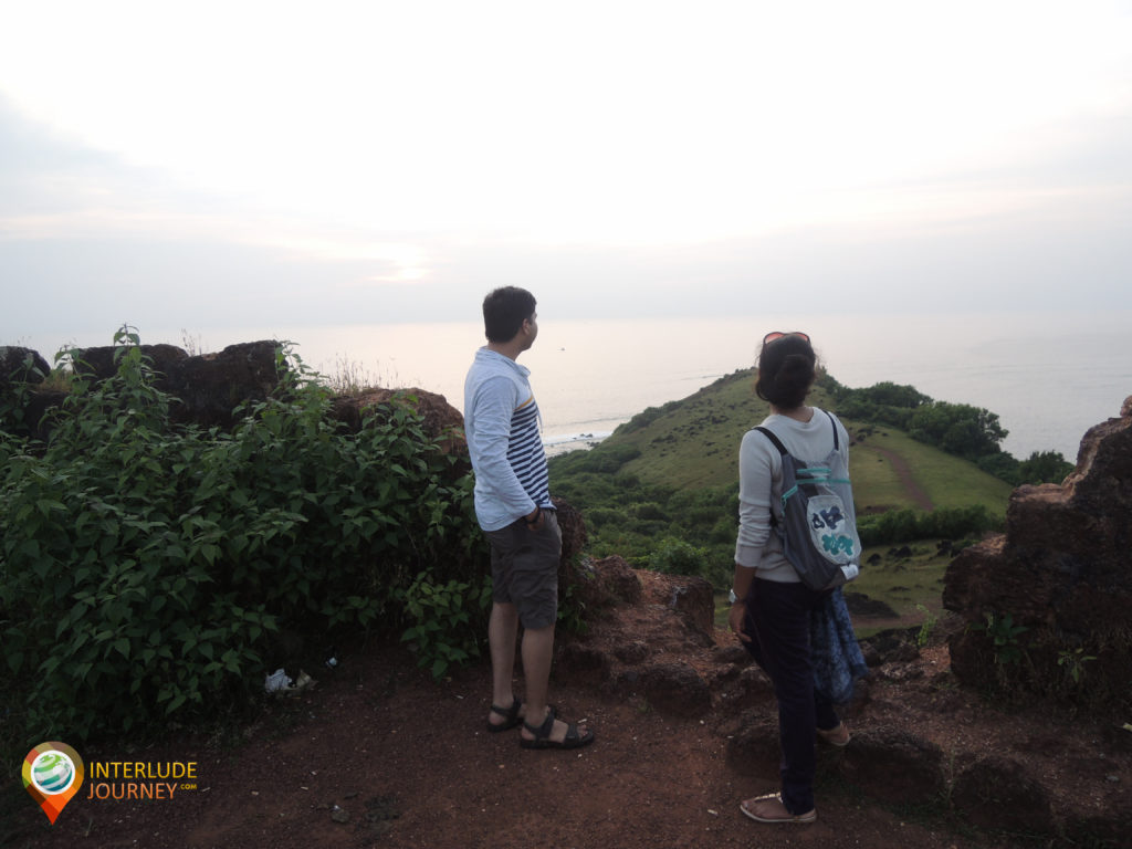 The view from Chapora fort