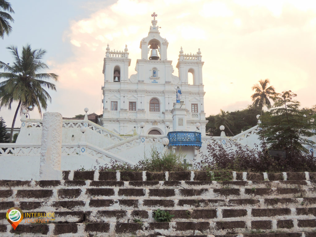 The church in the heart of the city, Panjim