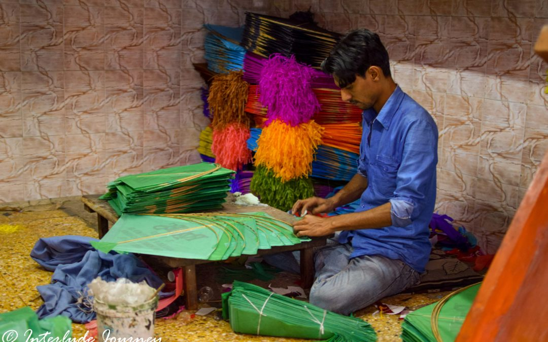 A Peek into the Kite Making Industry of Gujarat