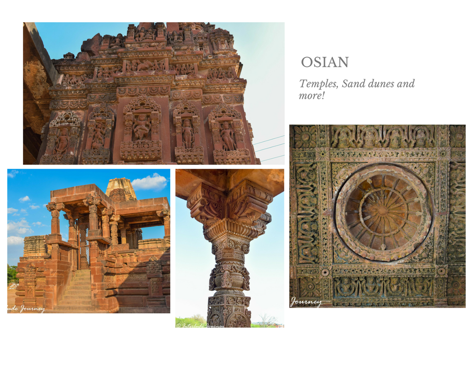 Ruins of jain temples at Osian