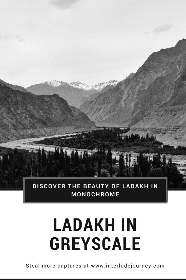 Ladakh in Monochrome- Pinterest
