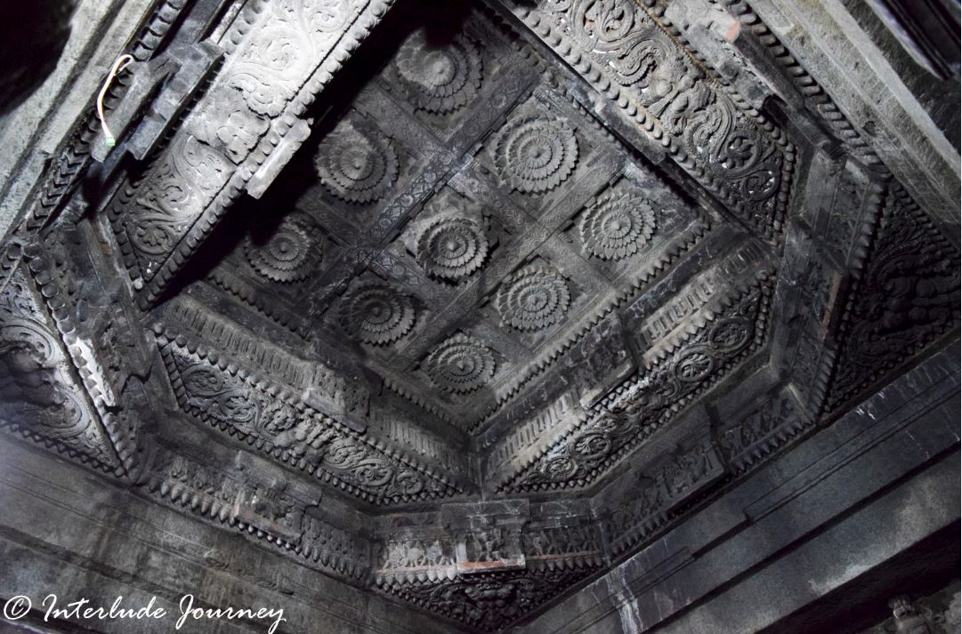 Carved Ceilings at Somanathapura