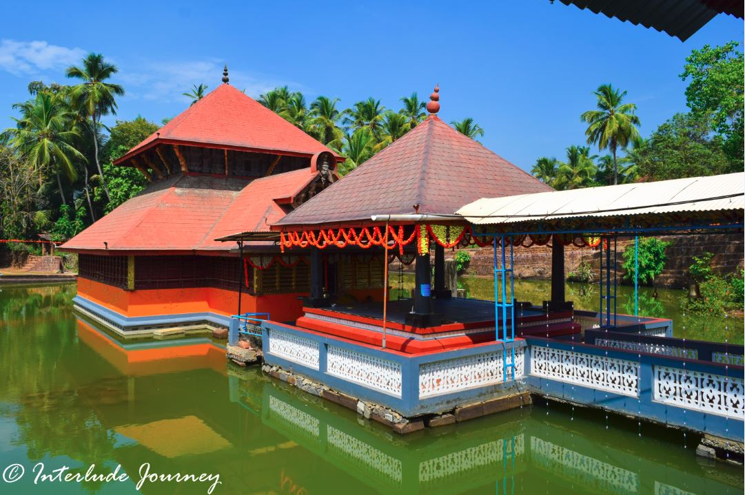 Lake temple of Ananthapura temple