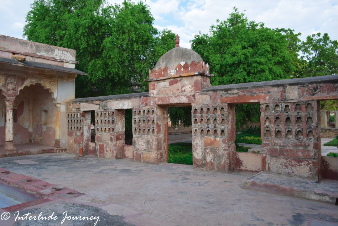 Deepak Mahal in Nagaur Fort